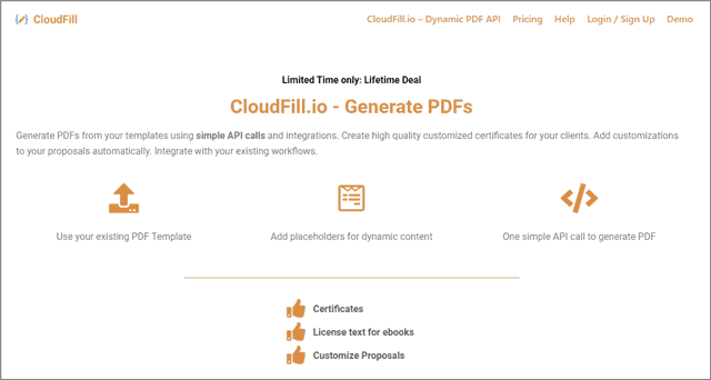 cloudfill-lifetime-deal